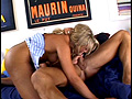 PLAY: Curvy starlet Jules Van Saint takes a load of man jizz to her face and gags during deep throating a big dong