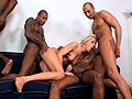 PLAY: Naughty scarlets Manuela and Valentina Rossi get both off their love holes filled by 4 hard cocks