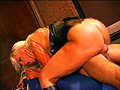 PLAY: Horny babe Nicky Hunter gets hot double penetration action in a wild threesome