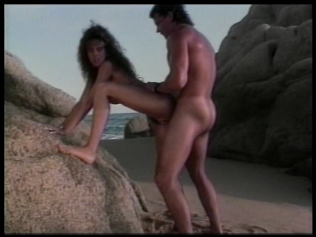 PLAY: Racquel Darrian gets fucked on the beach