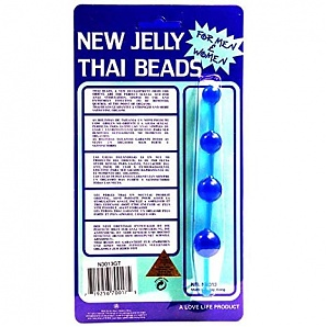 Thai Anal Beads-Black