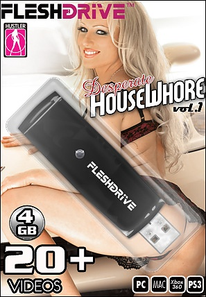20+ Desperate HouseWhores Vol. 1 4gb USB FLESHDRIVE