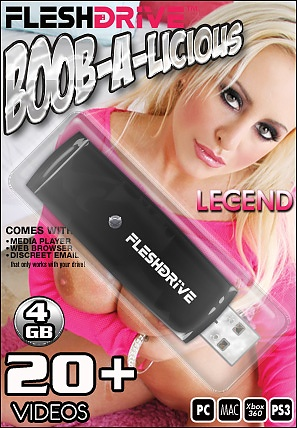 20+ Boob-A-Licious Videos on 4gb usb FLESHDRIVE