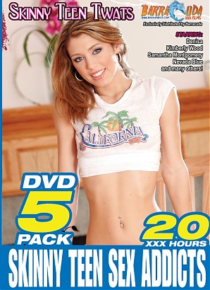 Skinny Teen Sex Addicts (5 DVD Set)