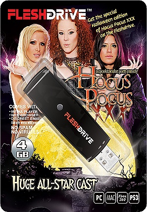 20+ Hocus Pocus Video on 4gb usb FLESHDRIVE