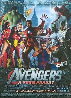 The Avengers XXX - A Porn Parody (2 Dvd Set)