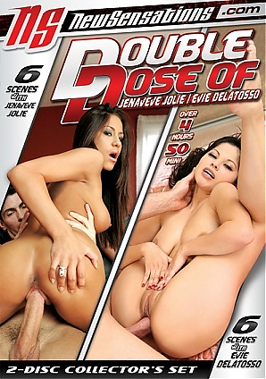 Double Dose Of Jenaveve Jolie / Evie Delatosso  (2 DVD Set)
