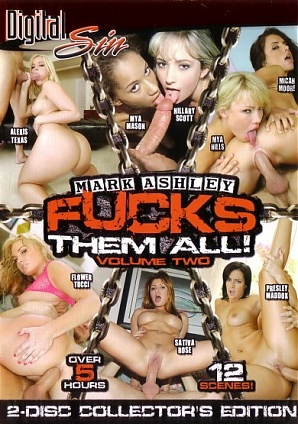 Mark Ashley Fucks Them All 2 (2 DVD Set)