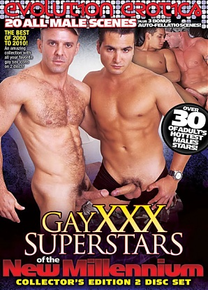 Gay XXX Superstars Of The New Millennium 1 (2 DVD Set)