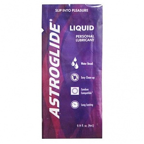 Astroglide Personal Liquid Lubricant 4ml Water Based