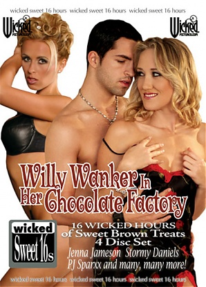 Willy Wanker In Her Chocolate Factory (4 DVD Set)