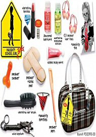 Naughty School Girl Bag (104549.3)