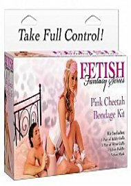 Ff Pink Cheetah Bondage Kit (104560)