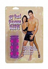 Beaded Penis Sleeve-Purple (104682.4)