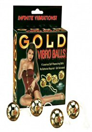 Gold Vibro Balls 4pc. Set (104858)