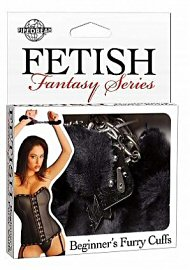 Fetish Fantasy Furry Cuffs Black (105102)