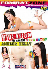 Violation Of Hairy First Timer: Andrea Kelly (112034.9)