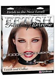 Fetish Fantasy Extreme - Heavy Duty Leash & Collar (114007)