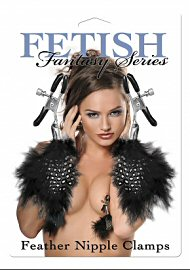 Fetish Fantasy Feather Nipple Clamps (114225)