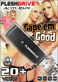 20+ Gape'em Good Videos on 4gb usb FLESHDRIVE (114263)