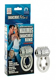 Waterproof Maximus Enhancement Ring - 5 Stroker Beads (116320)