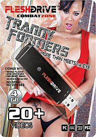 20+ Tranny Formers Video on 4gb usb FLESHDRIVE (116591)