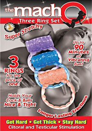 The Macho Three Ring Set Assorted Color (117426)