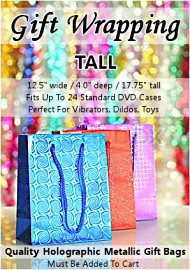 Tall Holographic Gift Bag (120023.1000)
