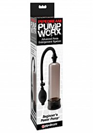 Pump Worx Beginners Power Pump With Cockring Smoke (120067.24)