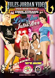 Lisa Ann Vs Julia Ann (2 DVD Set) (123096.3)