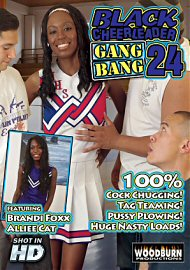 Black Cheerleader Gang Bang #24 (128290.10)