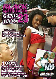 Black Cheerleader Gang Bang #23 (128293.9)