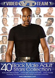 Top 40 Black Male Adult Stars Collection (2 Dvd Set) (135315.100)