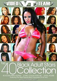 Top 40 Black Adult Stars Collection 1 (2 Dvd Set) (140355.200)
