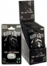 King Kong Silver Enhancement Pill (140957)