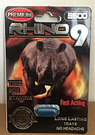 Rhino 9 Male Enhancement 3500 (141203.25)
