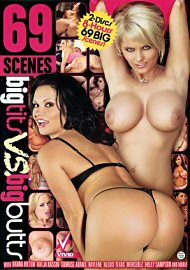 69 Scenes : Big Tits Vs. Big Butts (2 DVD Set) (142694.5)