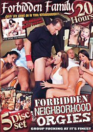 Forbidden Neighborhood Orgies (5 DVD Set) (2017) (147700.9999)
