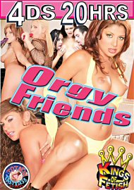 Orgy Friends (4 DVD Set) (2017) (154620.19998)