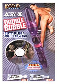 Acryl-X Double Bubble Butt Plug/anal Bead Wand (44477)