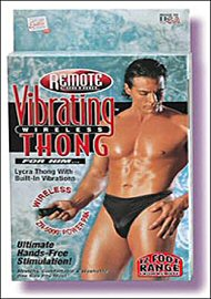 Remote Control Vibrating Men Thong (47245.10)
