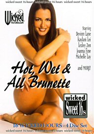 Hot, Wet & All Brunette (4 DVD Set) (63286.5)