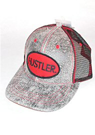 Hustler Hat - Black/red (72975)