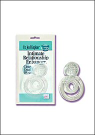 Intimate Relationship Enhancer- Clear Dual Ring (73676)