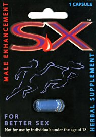 Eros - Sx Male Enhancement- 1 Capsule (81368)