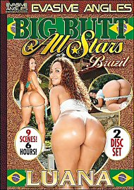 Big Butt All Stars Brazil Luana (2 DVD Set) (82013.1)