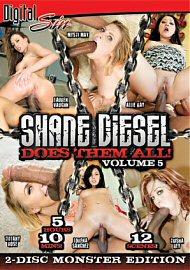 Shane Diesel Does Them All 5 (2 DVD Set) (82346.5)
