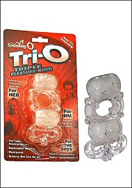 Tri-O Triple Pleasure Ring (83251)