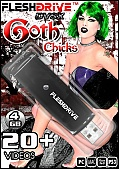 20+ Goth Chicks 4gb usb FLESHDRIVE (112647)
