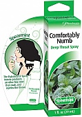 Comfortably Numb Deep Throat Spray Spearmint 1 Ounce (120064.5)